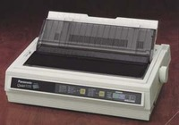 Panasonic KX-P3626 Wide Carriage 24-Pin Dot Matrix Printer with Quiet Technology image