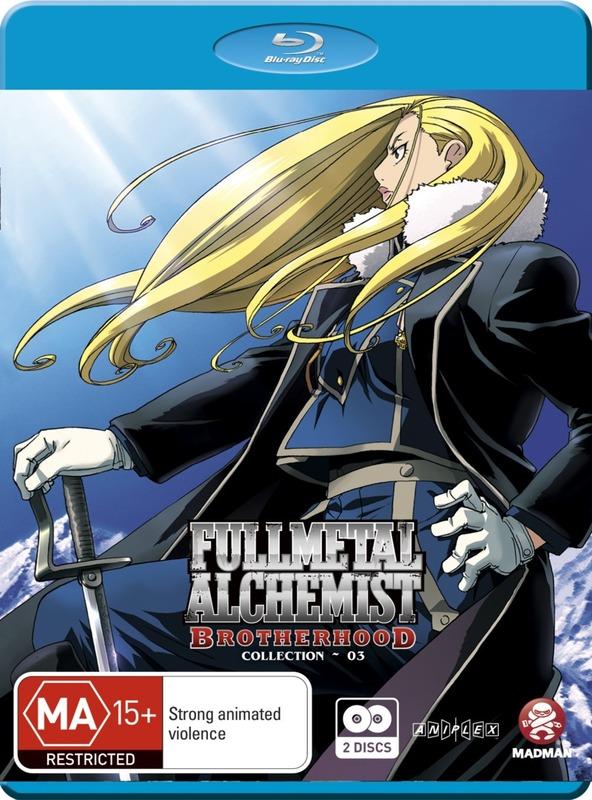 Fullmetal Alchemist: Brotherhood Collection 3 (2 Disc Set) on Blu-ray