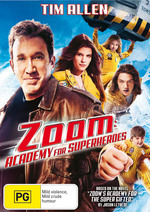 Zoom - Academy For Superheroes on DVD