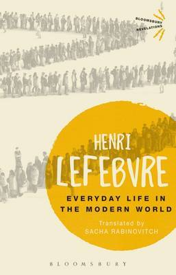 Everyday Life in the Modern World by Henri Lefebvre image