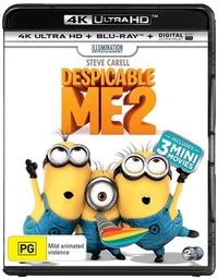 Despicable Me 2 on Blu-ray, UHD Blu-ray