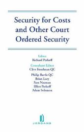 Security for Costs and Other Court Ordered Security by Richard Perkoff image