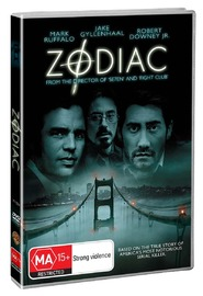 Zodiac on DVD image