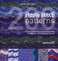 200 Ripple Stitch Patterns by Jan Eaton image