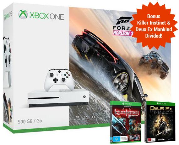 Xbox One S 500GB Forza Horizon 3 Console Bundle for Xbox One image