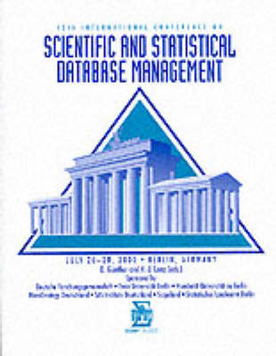 Scientific and Statistical Database Management by IEEE Computer Society image