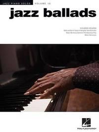 Jazz Piano Solos Volume 10