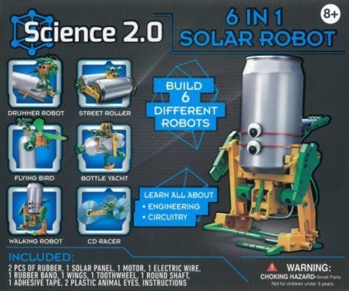 Science 2.0: 6 in 1 Solar Robot - Science Kit