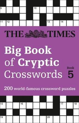 The Times Big Book of Cryptic Crosswords Book 5 by The Times Mind Games image