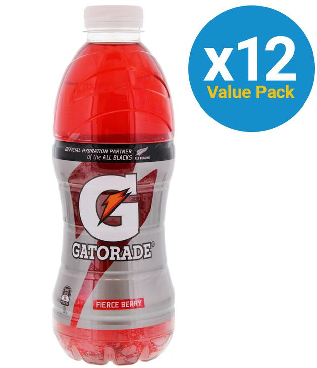 Gatorade G Series Fierce Berry 1L (12 Pack)