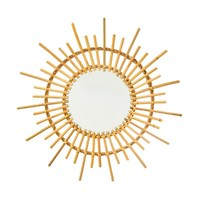 Sass & Belle: Rattan Starburst Mirror image