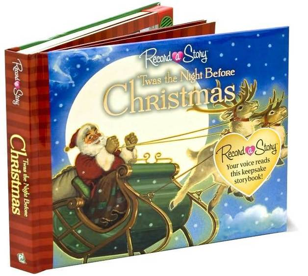 Recordable Christmas Books.Record A Story Twas The Night Before Christmas Recordable