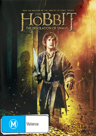 The Hobbit: The Desolation of Smaug on DVD