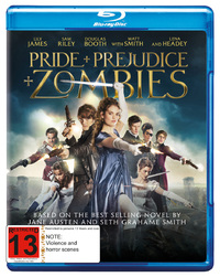 Pride and Prejudice and Zombies on Blu-ray