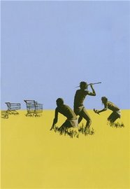Blue Island Press Cards: Banksy - Hunt Trolly