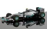 Scalextric: Mercedes F1 W05 Hybrid Nico Rosberg Slot Car
