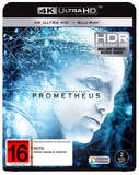 Prometheus on Blu-ray, UHD Blu-ray
