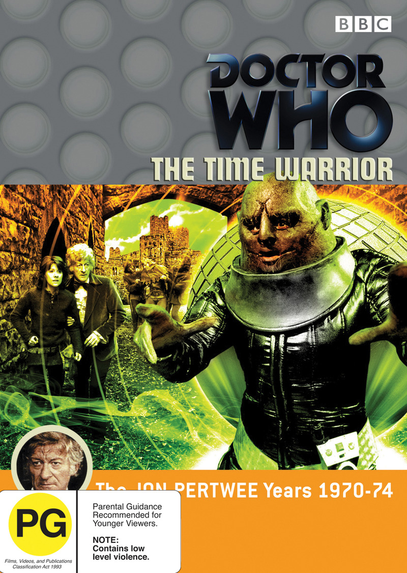 Doctor Who: The Time Warrior on DVD image