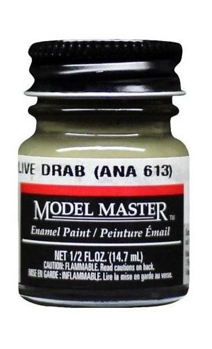 Testors: Enamel Paint - Olive Drab (Flat)