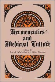 Hermeneutics and Medieval Culture image