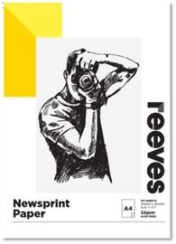 Reeves Newsprint Pad A4