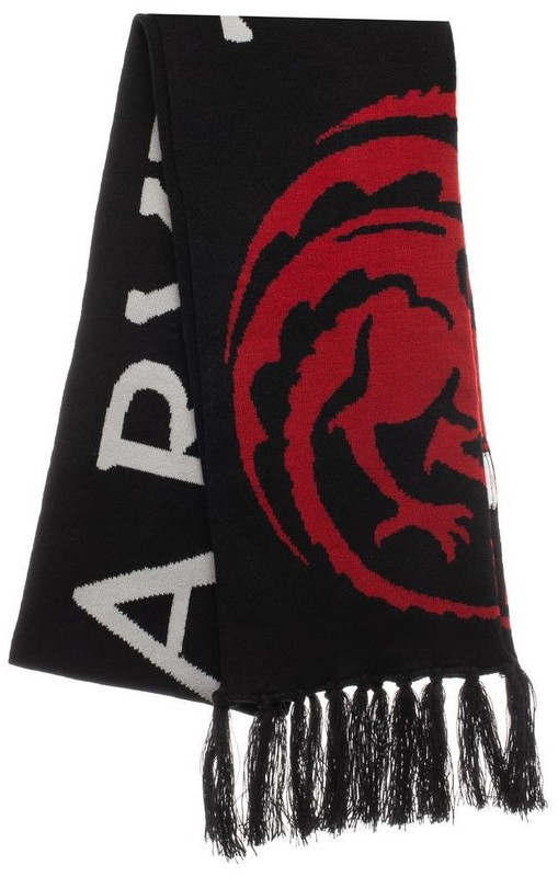 Game of Thrones: Knit Scarf - House Targaryen