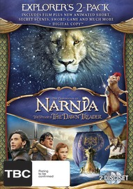The Chronicles of Narnia: Voyage of the Dawn Treader + Digital Copy (2 Disc Set) on DVD, DC