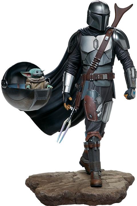 "Star Wars: Mandalorian & The Child - 20"" Premium Format Figure"