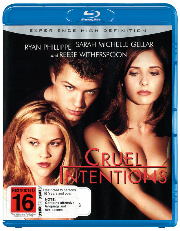 Cruel Intentions on Blu-ray