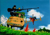 Lupin III: The Castle of Cagliostro on Blu-ray image