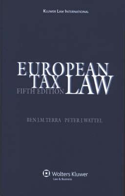 European Tax Law by Ben J.M. Terra image