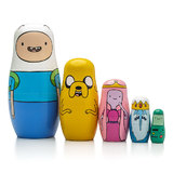 Adventure Time - Wood Nesting Dolls