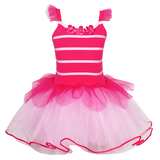 Pink Poppy: Bumble Bee Dress (Size 5/6) - Pink
