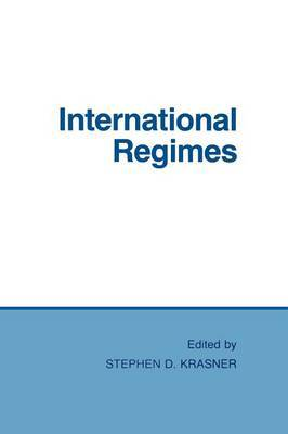 International Regimes by Stephen D Krasner image