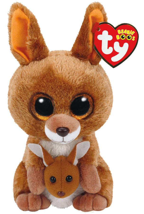 Ty Beanie Boo Kipper Kangaroo Toy At Mighty Ape Nz