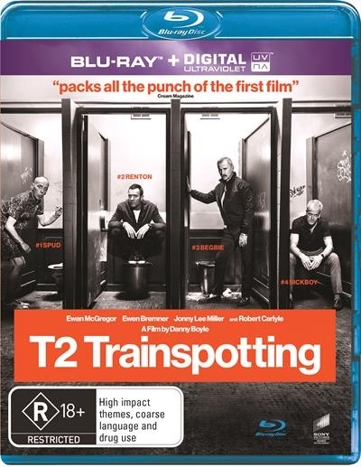 Trainspotting 2 on Blu-ray