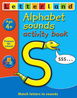 Alphabet Sounds Activity Book by Gudrun Freese image