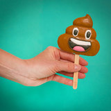 Treat Factory - Emoticon POO Lolly (100g)