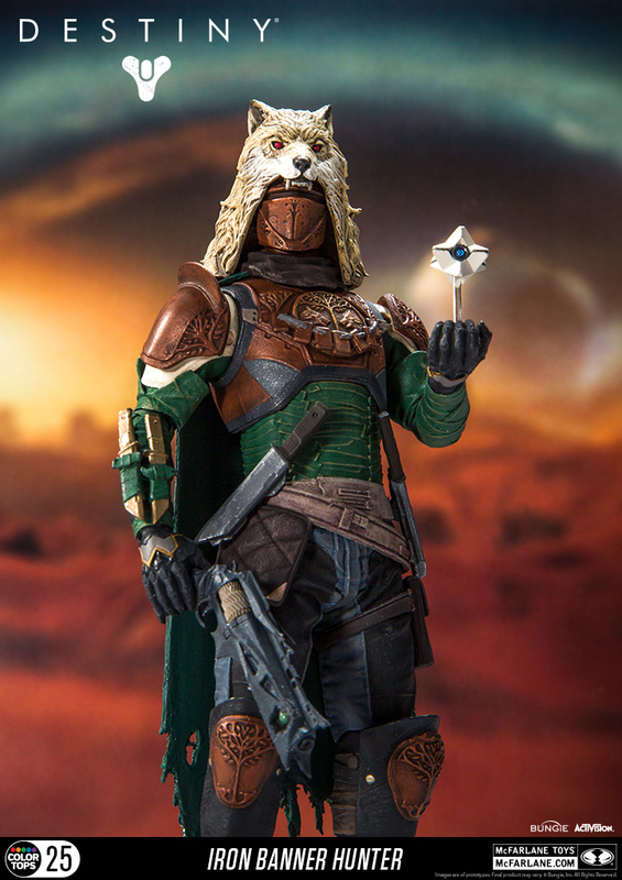 Destiny - Iron Banner Hunter Action Figure