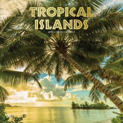 Tropical Islands 2019 Square Wall Calendar by Inc Browntrout Publishers