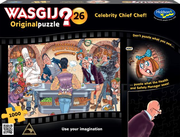 Wasgij: 1000 Piece Puzzle - Originals (Celebrity Chef)