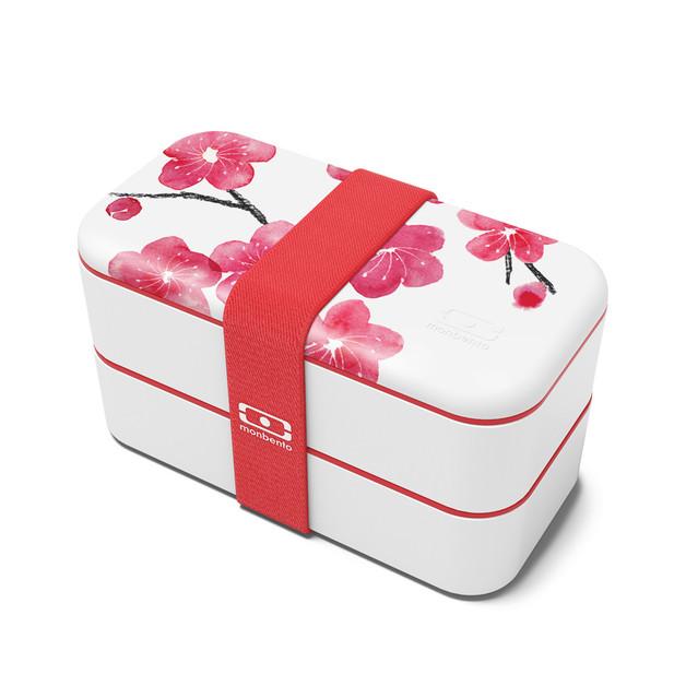 Monbento MB Original Bento Lunchbox - Graphic Blossom