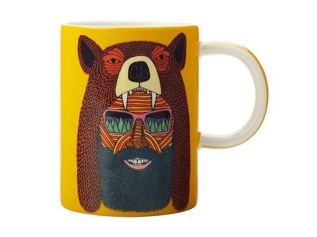 Maxwell & Williams: Mulga the Artist Mug Bear Man