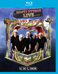 Monty Python: Live (Mostly) One Down, Five to Go on Blu-ray