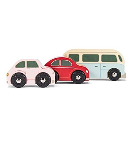 Le Toy Van: Retro Metro Car Set