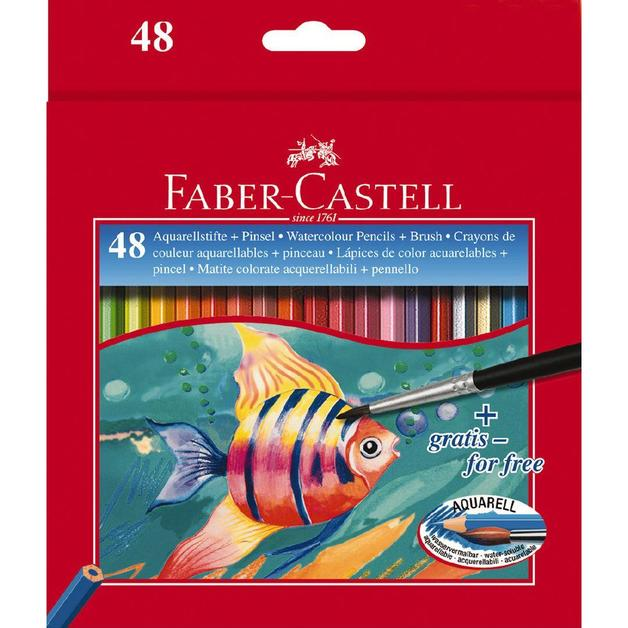 Faber-Castell Classic: Water Colour Pencils - 48 Pack