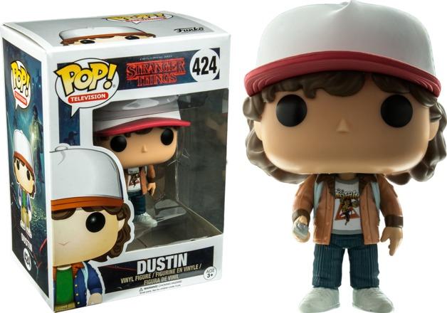 Stranger Things - Dustin (Brown Jacket) Pop! Vinyl Figure