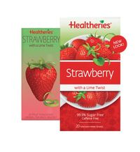 Healtheries Strawberry Tea with a Lime Twist (Pack of 20)