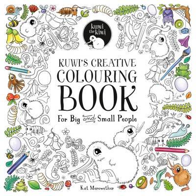 Kuwi's Creative Colouring Book: For Big and Small People