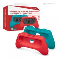 Hyperkin Switch Pro Handle Attachment for Joy-Con (Red & Blue) for Nintendo Switch